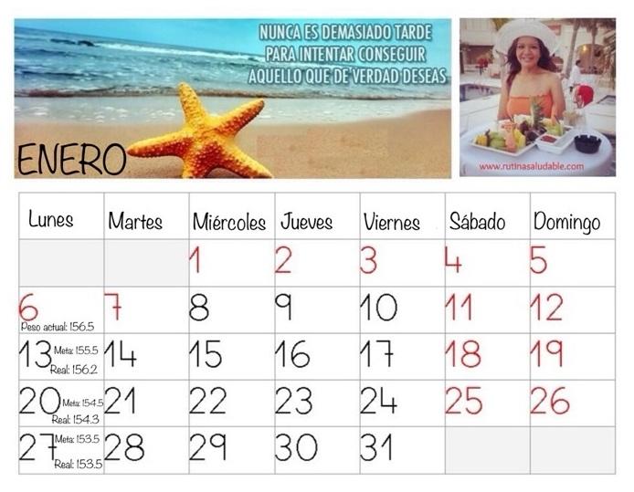 Calendario avances