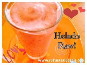 Helado Raw