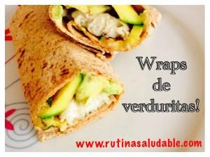 Wraps de verduras