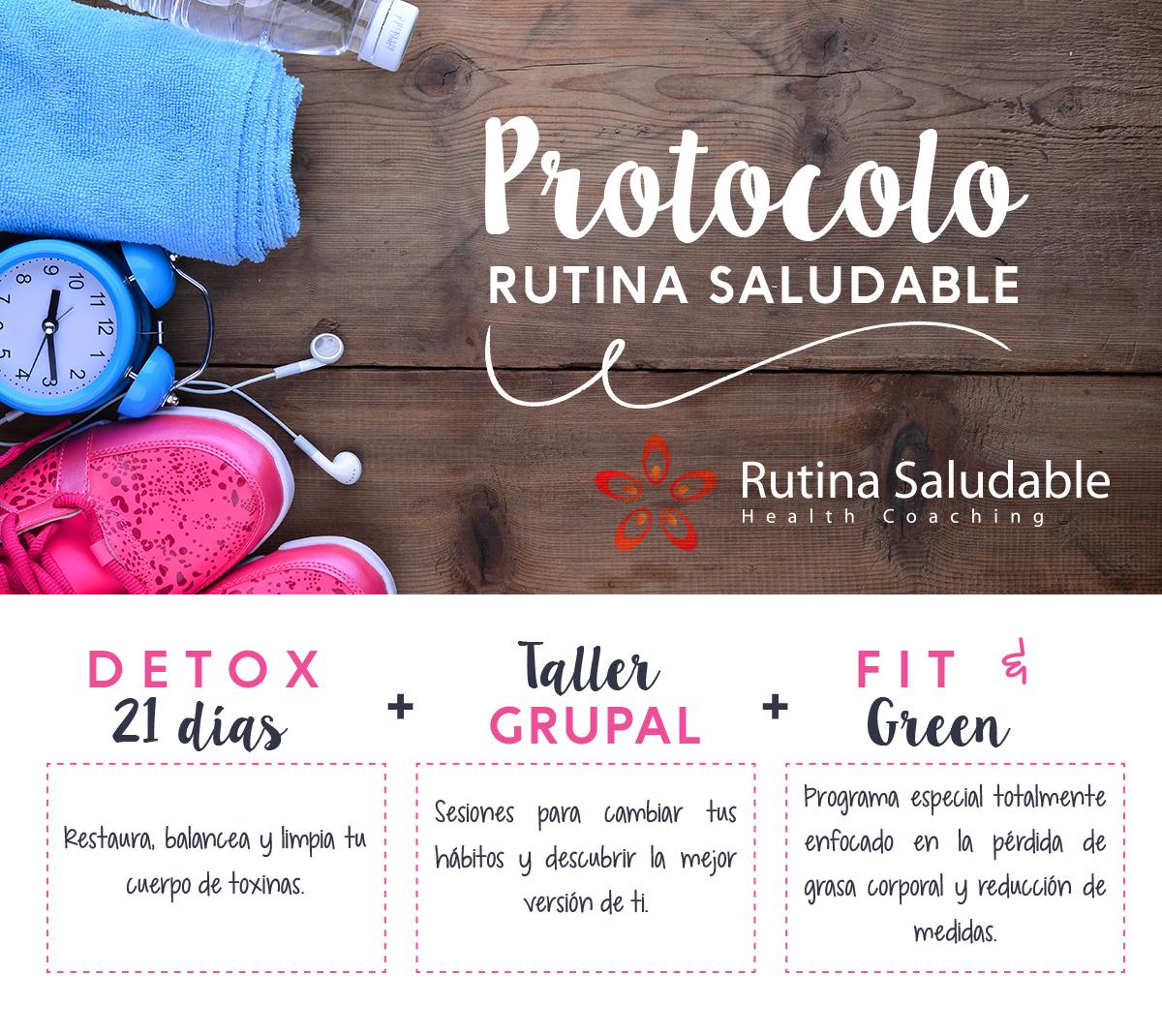 PROTOCOLO RUTINA SALUDABLE COMPLETO